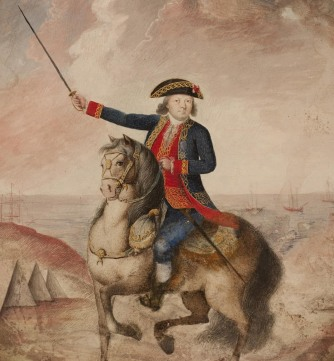 Retrato-del-mariscal-Bernardo-de-Galvez-1781-ca-Agua-sobre-papel