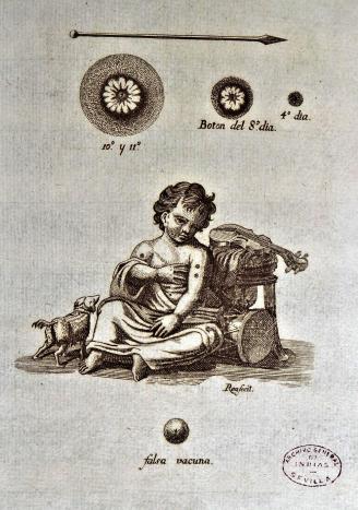 AGI, grabado que ilustra la aplicación de con 3 botones